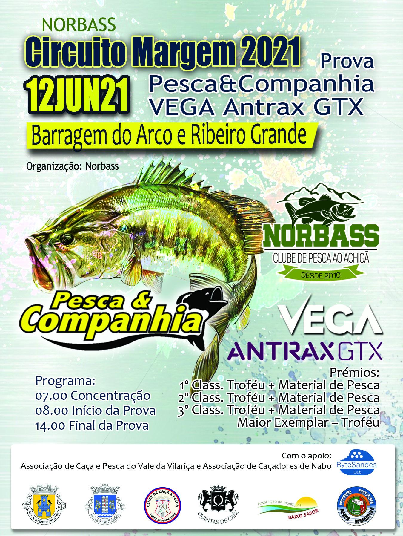 Prova Pesca & Companhia Vega Antrax GTX