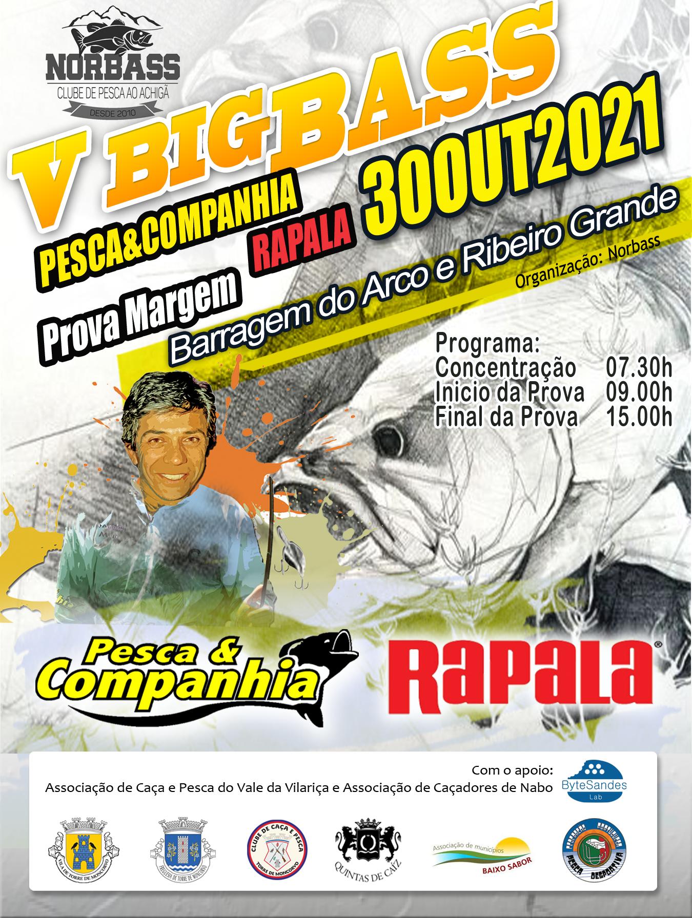 V Big Bass Margem - Rapala   Pesca&Companhia